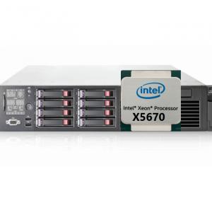 HP Proliant DL380 G7 X5670 سرور کارکرده