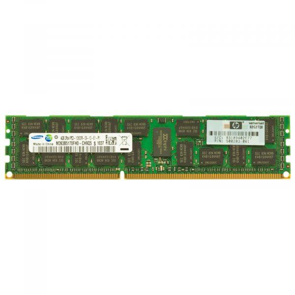 HP 4GB Dual Rank x4 PC3-10600