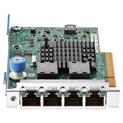 کارت شبکه سرور HPE 1GB Ethernet 4-port 366FLR Adapter