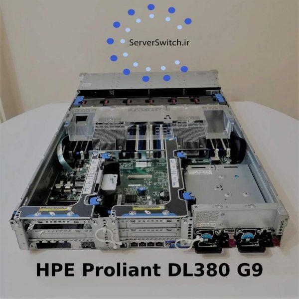 سرور دست دوم رکمونت HP DL380 G9