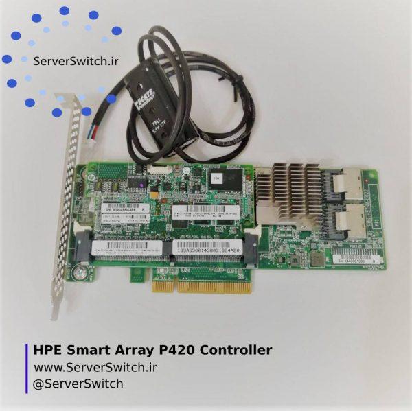 کارت رید کنترلر سرور اچ پی Smart Array P420