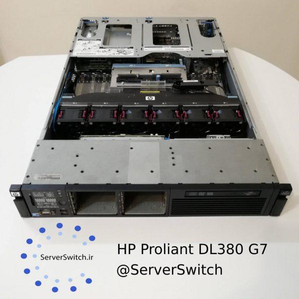 سرور دست دوم یوزد اچ پی HP DL380 G7