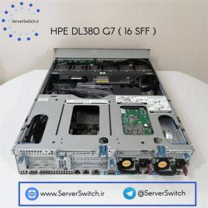 سرور دست دوم اچ پی DL380G7 16SFF Drive