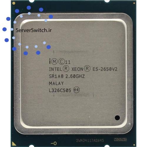 پردازنده 8 هسته ای سرور Intel xeon E5-2650 v2