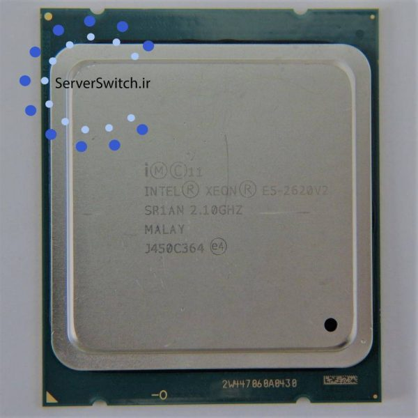 سی پی یو سرور Intel xeon E5-2620 v2