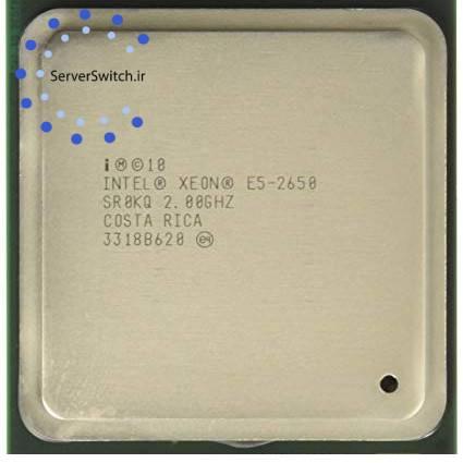 پردازنده اینتل سرور Intel xeon E5-2650