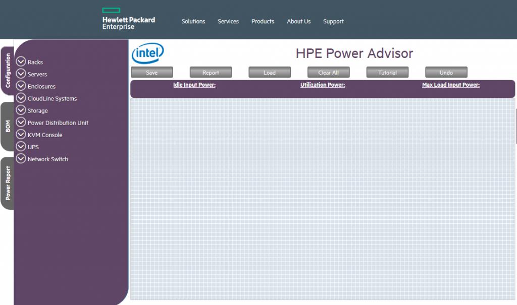 HPE PowerAdv1 1024x605 - معرفی نرم افزار HPE Power Advisor
