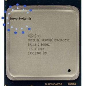 سی پی یو 10 هسته ای سرور Intel xeon E5-2680 v2