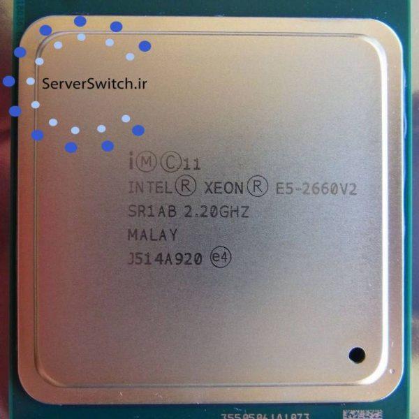 سی پی یو اینتل سروری Intel E5-2660 v2