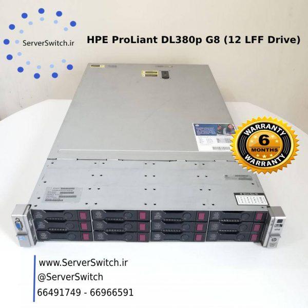 سرور استوک و دست دوم اچ پی DL380 G8 12LFF