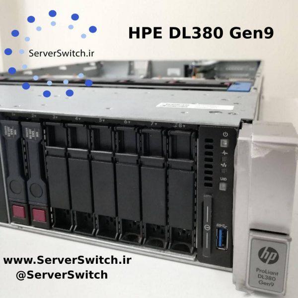 سرور کارکرده و دست دوم اچ پی DL380 G9