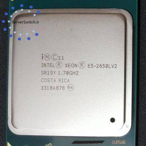 پردازنده 10 هسته ای سرور Intel Xeon 2650L V2