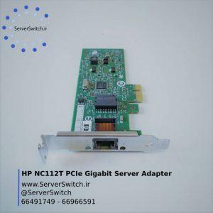 کارت شبکه تک پورت سرور HP NC112T