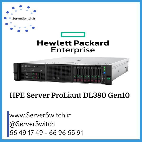 سرور اچ پی New مدل DL380 G10