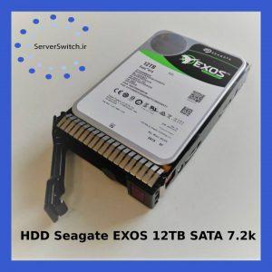 هارد سیگیت سرور Exos با ظرفیت 12TB