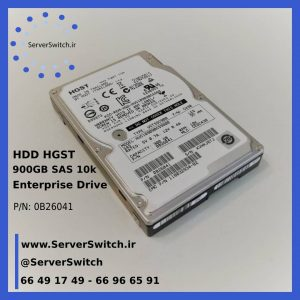 هارد HGST Hitachi 900GB SAS 10k