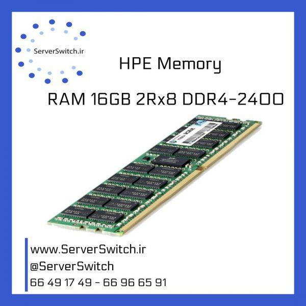 خرید رم سرور اچ پی RAM 16GB DDR4 2400