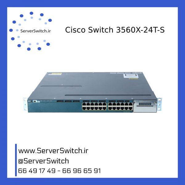 3560X 24T S 600x600 - WS-C3560X-24T-S سوئیچ شبکه سیسکو
