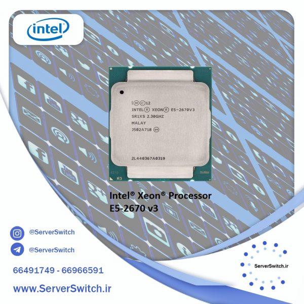 CPU سرور استوک 2670v3
