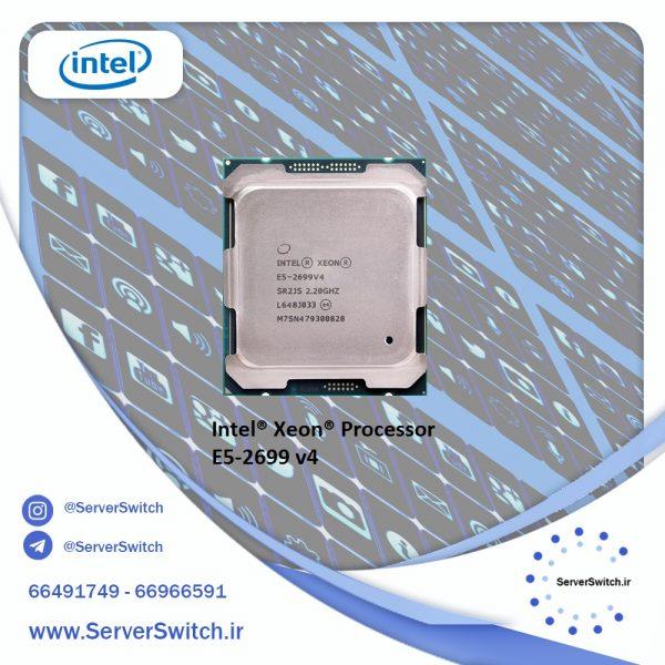 پردازنده سرور کارکرده 2699v4