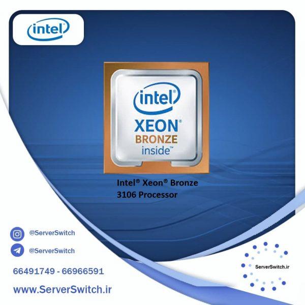 Bronze CPU Intel Xeon 3106