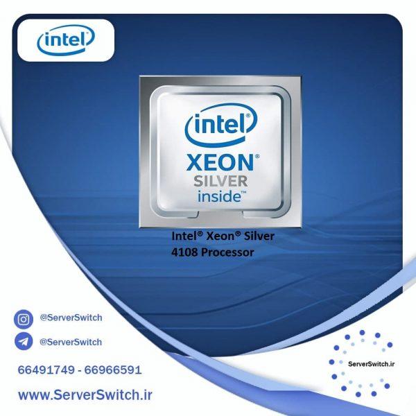 پردازنده 8 هسته ای سرور Intel Xeon Silver 4108