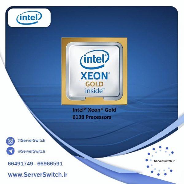 پردازنده سرور G10 مدل گلد 6138
