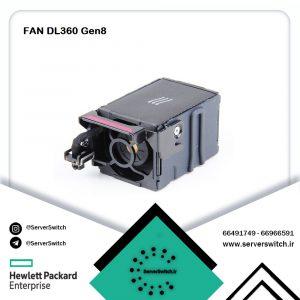 فن کارکرده سرور HP