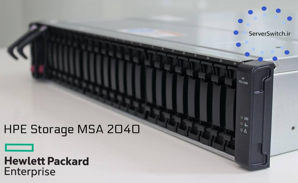 معرفی و بررسی کلی ذخیره ساز HP MSA 2040