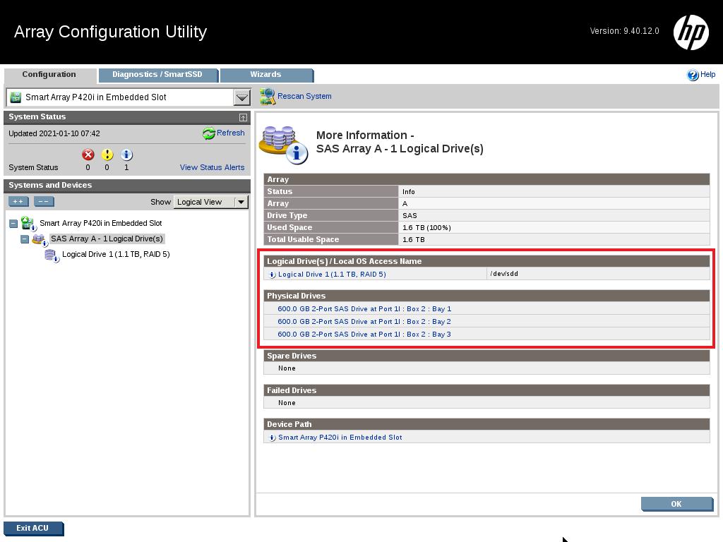 12 - کانفیگ کردن RAID روی HPE Server