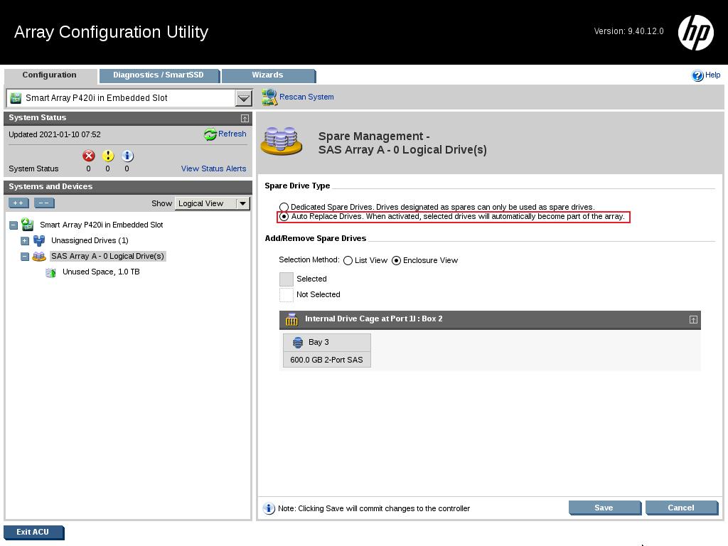 17 - کانفیگ کردن RAID روی HPE Server