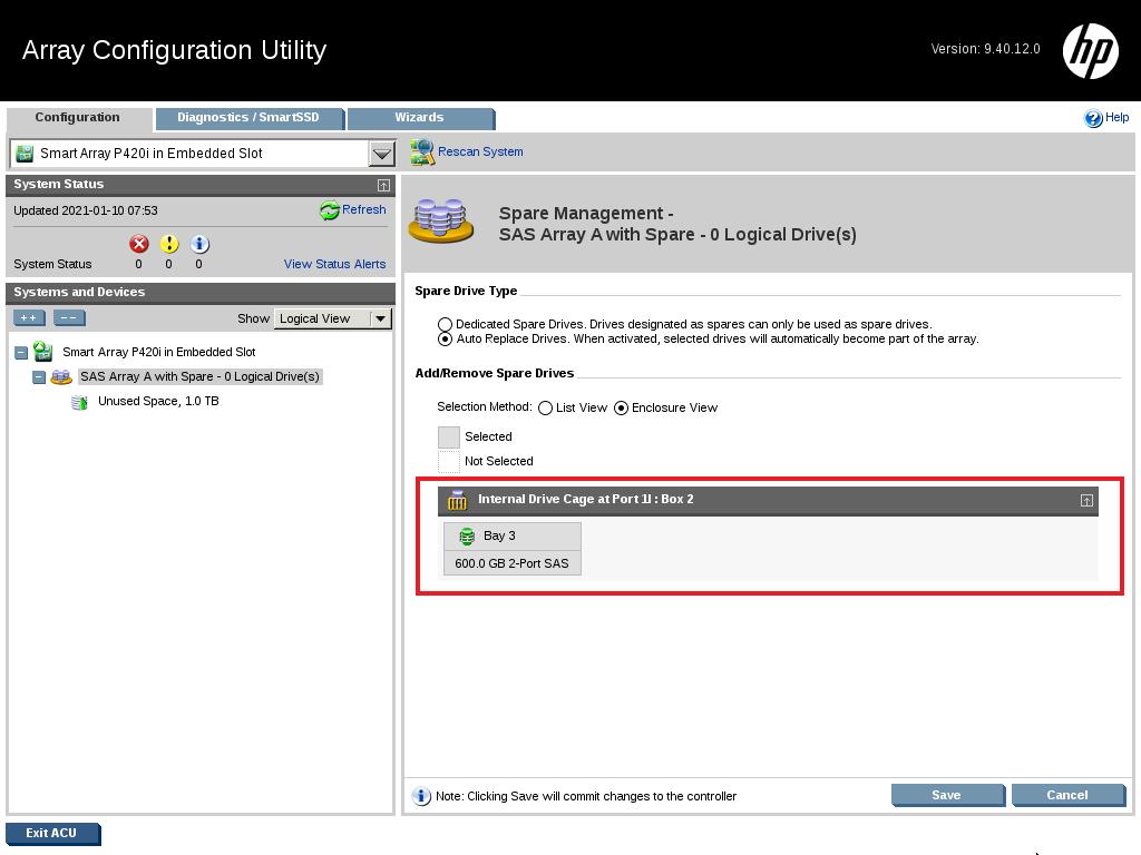 18 - کانفیگ کردن RAID روی HPE Server