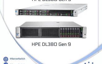 مقایسهی دو سرور DL360 Gen9 و DL380 Gen9