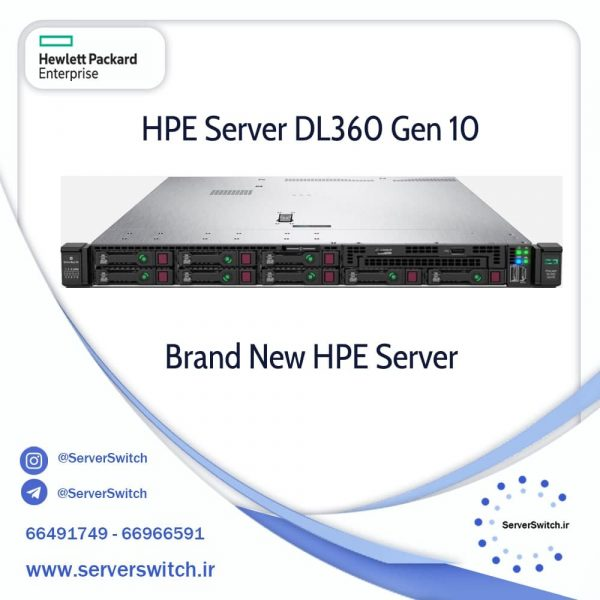 سرور DL360 G10 SFF